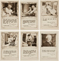 "Non-Sport Cards:Sets, 1910 Mark Twain ""Following The Equator"" Post Card Complete(?) Set (15 different). ..."