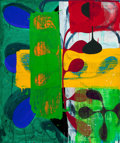 Post-War & Contemporary:Contemporary, CHARLES ARNOLDI (American, b. 1946). Dream of it's own,1992. Acrylic on canvas. 50 x 42 inches (127 x 106.7 cm). Signed...
