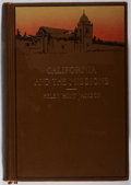 Books:Americana & American History, Helen Hunt Jackson. Glimpses of California and the Missions.Little, Brown, 1914. Later edition. Rubbing and stainin...