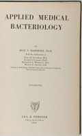Books:Science & Technology, Max S. Marshall. Applied Medical Bacteriology. Lea & Febiger, 1947. First edition, first printing. Owner's name. Lib...