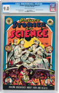 Golden Age (1938-1955):Non-Fiction, Picture Stories from Science #2 (EC, 1947) CGC VF/NM 9.0 Cream tooff-white pages....