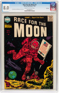 Golden Age (1938-1955):Science Fiction, Race For the Moon #3 File Copy (Harvey, 1958) CGC VF 8.0 Cream tooff-white pages....