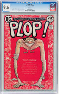 Bronze Age (1970-1979):Humor, Plop! #1 (DC, 1973) CGC NM+ 9.6 White pages....