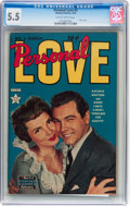 Golden Age (1938-1955):Romance, Personal Love #2 (Famous Funnies, 1950) CGC FN- 5.5 Slightlybrittle pages....