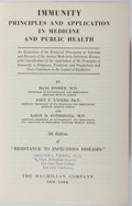 Books:Medicine, Hans Zinsser, et al. Immunity. Macmillan, 1945. Fifth edition. Ex-library with typical markings and wear. Owner'...