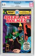 Bronze Age (1970-1979):Miscellaneous, Sherlock Holmes #1 CGC-Graded Group (DC, 1975).... (Total: 9 ComicBooks)