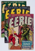 Golden Age (1938-1955):Horror, Eerie #3, 9, and 17 Group (Avon, 1952-54).... (Total: 3 Items)