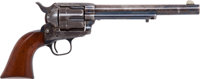 Rare First Year of Production Civilian Colt Pinch Frame Single Action Revolver with Accompanying Nickel-Plated Skeleton...