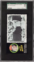 Baseball Cards:Singles (1970-Now), 1971 Topps Greatest Moments Pete Rose #15 SGC 96 Mint 9 - Pop One,None Higher! ...