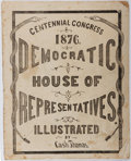 Books:Americana & American History, [American Party Politics]. Cash Thomas. Democratic House ofRepresentatives. Thomas, 1876. Wrappers somewhat worn an...