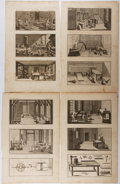Books:Prints & Leaves, 18th Century Steel Engravings of Manufacturing Scenes. From TheComplete Dictionary of Arts and Sciences in Which the Whol...