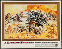 "A Distant Trumpet and Other Lot (Warner Brothers, 1964). Half Sheets 92) (22"" X 28""). Western. ... (Total: 2 I..."
