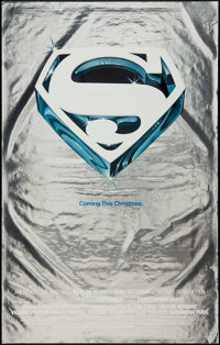 """Superman the Movie (Warner Brothers, 1978). Mylar One Sheet (25"""" X 40"""") Advance. Action"""