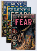 Golden Age (1938-1955):Horror, Haunt of Fear #12, 23, and 27 Group (EC, 1952-54).... (Total: 3Items)