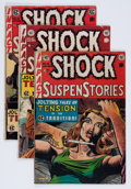 Golden Age (1938-1955):Horror, Shock SuspenStories Group (EC, 1953-55).... (Total: 5 Items)