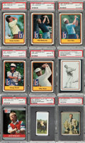 Golf Cards:General, 1951-1991 Multi-Brand High Grade Golf Card Collection (350+) With Sets. ...