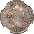 Early Dimes, 1798 10C Large 8 MS63 NGC. JR-4, R.3....
