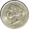 Canada: Victoria 10 Cents 1871H, KM3, MS64 ICCS, a lovely, fully lustrous coin with incredibly sharp details on the high...