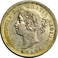 Canada: Victoria 10 Cents 1888, KM3, MS64 ICCS, full mint brilliance with just a hint of emerging toning in the peripher...
