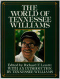 Books:Biography & Memoir, Tennessee Williams [subject]. Richard F. Leavitt [editor]. SIGNED/LIMITED. The World of Tennessee Williams. Putnam, ...