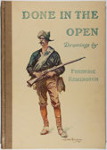 Books:Art & Architecture, Frederic Remington. Done in the Open. Collier, 1904. Later printing. Folio. Illustrated. Spine and corners somew...