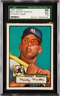 Baseball Cards:Singles (1950-1959), 1952 Topps Mickey Mantle #311 SGC 86 NM+ 7.5....