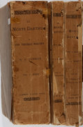 Books:Literature Pre-1900, Sir Thomas Malory. Le Morte Darthur. Nutt, 1890. First edition with the notes by H. Oskar Sommer. Three quarto v... (Total: 3 Items)