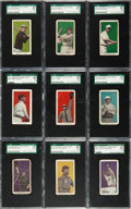 Baseball Cards:Singles (Pre-1930), 1911 E94 Close Candy Near Set (26/30) With Cobb, Young &HoFers. ...