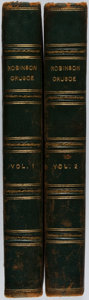 Books:Literature Pre-1900, [Daniel Defoe]. The Life and Adventures of Robinson Crusoe.John Stockdale, 1804. Two quarto volumes. Illustrated. B... (Total:2 Items)