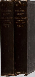 Books:Literature Pre-1900, Harriet Beecher Stowe. Dred; A Tale of the Great DismalSwamp. Phillips, et al., 1856. First edition. Two octavo vol...(Total: 2 Items)