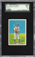 "Baseball Cards:Singles (Pre-1930), 1911-14 D304 ""Butter Krust"" Frank Chance, With Team SGC 60 EX 5 -Highest SGC Example! ..."
