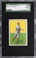 """Baseball Cards:Singles (Pre-1930), 1911-14 D304 """"Butter Krust"""" Cy Young SGC 55 VG/EX+ 4.5 - Highest SGC Example! ..."""