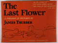 Books:Children's Books, James Thurber. The Last Flower. Harper, 1939. First edition.Oblong quarto. Illustrated. Jacket toned and rubbed, on...