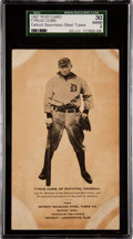 Baseball Cards:Singles (Pre-1930), 1907 Seamless Steel Tubes Co. Ty Cobb Rookie SGC 30 Good 2 - One ofThree Known....