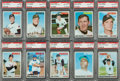 Baseball Cards:Singles (1970-Now), 1970 Topps Baseball PSA Gem Mint 10 Collection (10). ...