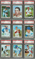 Baseball Cards:Singles (1970-Now), 1970 Topps Baseball PSA Gem Mint 10 Collection (16). ...