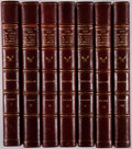 Books:Fine Press & Book Arts, [Limited Editions Club]. Edward Gibbon. The Decline and Fall ofthe Roman Empire. LEC, 1946. One of 1,500 copies. Wi... (Total:7 Items)