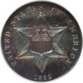 Three Cent Silver: , 1862 3CS MS63 NGC. CAC. NGC Census: (164/664). PCGS Population(213/576). Mintage: 343,000. Numismedia Wsl. Price for probl...