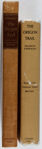 Books:Literature Pre-1900, [Thomas Hart Benton, illustrator]. SIGNED LIMITED EDITION. FrancisParkman. The Oregon Trail. Doubleday, Doran, 1945... (Total:2 Items)