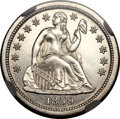 Proof Seated Dimes, 1859 10C Transitional PR67 ★ Cameo NGC. Judd-233, Pollock-280, HighR.6....