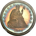 Proof Seated Quarters, 1889 25C PR68 ★ NGC....