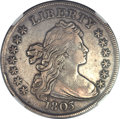 Early Dollars, 1803 $1 Small 3 -- Improperly Cleaned -- NGC Details. XF. B-4,BB-254, High R.3....