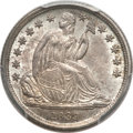 Seated Dimes, 1839-O 10C No Drapery MS64 PCGS. CAC....