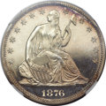 Proof Seated Half Dollars, 1876 50C PR65 Cameo NGC....