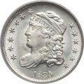 Bust Half Dimes, 1835 H10C Small Date, Small 5C MS66 PCGS. CAC. V-7, LM-10, R.1....