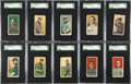 Baseball Cards:Lots, 1909-11 T206 White Borders Collection (169). ...