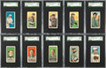 Baseball Cards:Sets, 1909-11 T206 White Borders Collection (188). ...