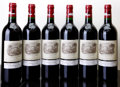 Red Bordeaux, Chateau Lafite Rothschild 1998 . Pauillac. Bottle (6). ...(Total: 6 Btls. )