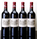 Red Bordeaux, Chateau Lafite Rothschild 2005 . Pauillac. 2-ink stained labels. Bottle (4). ... (Total: 4 Btls. )