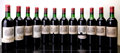 Red Bordeaux, Chateau Lafite Rothschild 1966 . Pauillac. 7bn, 1ts, 1vhs,2hs, 8bsl, 3gsl, 1ltal, 5tal. Bottle (12). ... (Total: 12 Btls. )